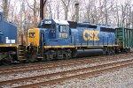 CSX 6158 on Q418